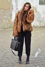 H-m-boots-h-m-coat-zara-bag-zara-pants
