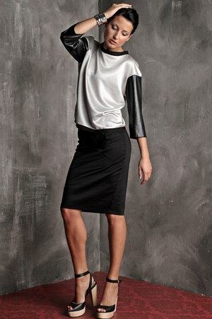 silverleather AgataZabekFashion top