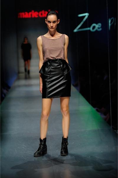 leatherette Zoe Phobic skirt