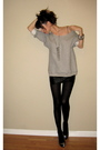 Silver-target-sweater-black-h-m-skirt-black-h-m-tights-silver-miu-miu-shoe