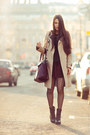 Black-ash-boots-beige-burberry-coat-crimson-zara-bag-maroon-topshop-skirt
