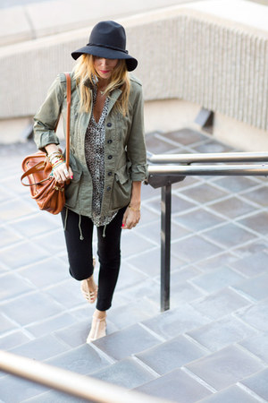J Brand jeans - free people hat - Chloe bag - Zara blouse - Zara flats