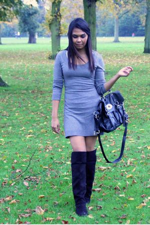 H&M dress - H&M boots - next
