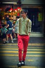 Black-creepers-dr-martens-shoes-red-topman-jeans