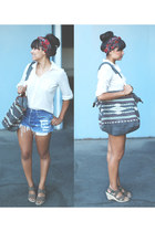 Billabong bag - cut-offs Vintage Levis shorts