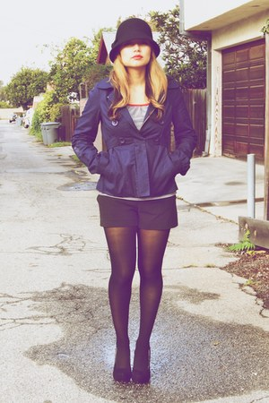 BB Dakota jacket - thrifted t-shirt - Forever 21 shorts - Ebay shoes - Forever 2