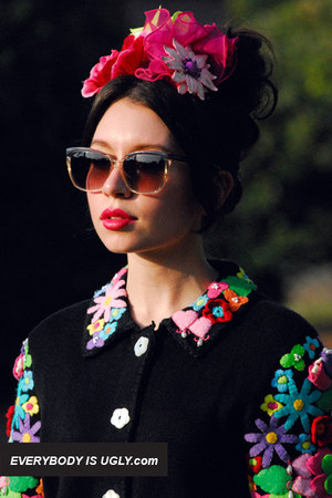 Black-floral-applique-vintage-cardigan