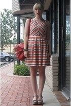 Boutique by Jaeger dress - foley  corinna purse - big buddha sandals - Michelle 