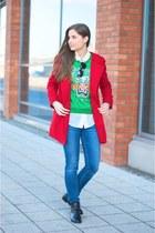 red Mango coat