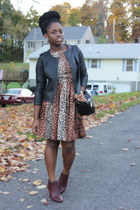 leopard print Self Made dress