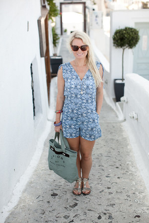 H&amp;M romper - Jacobs by Marc Jacobs bag - Marc Jacobs sunglasses