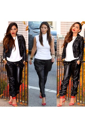 leather pants CelebBoutique pants
