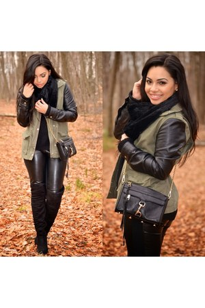 mini mac Rebecca Minkoff bag - H&M coat