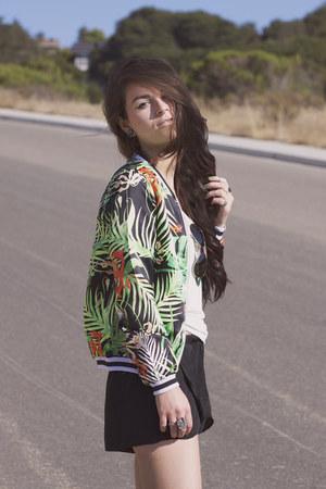 palm print Choies jacket