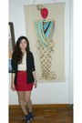 Navy-shoes-black-blazer-cream-shirt-ruby-red-alexandra-marin-skirt
