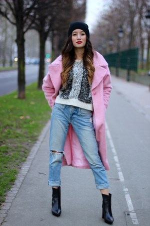 Zara shoes - asos coat - IRO jumper