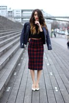Zara heels - The Kooples vest