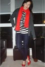 Red-old-navy-scarf-red-le-chateau-shoes-navy-guess-jeans-black-strawberry-