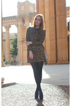 brown leopard Lookbook Store dress