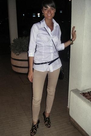 Zara shirt - Bershka pants -  belt - Primark shoes