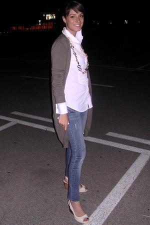 jeans - Sisley blazer - Nara Camicie shirt - Zara shoes