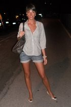 shorts - shirt - Zara shoes - H&M accessories