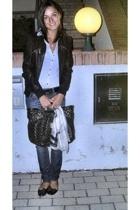 Gas jeans - Tally Weijl jacket - Blumarine accessories - shoes