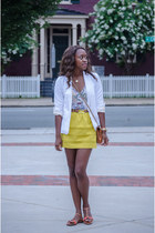 white madewell blazer - tawny quilted Rebecca Minkoff bag