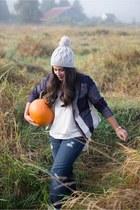 Target hat - Mavi jeans - Target blazer