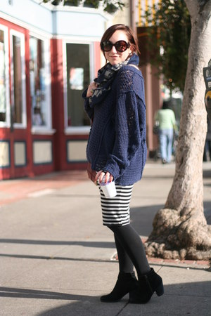Alexander Wang bag - Nordstrom boots - free people sweater - Prada sunglasses