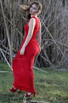 red i love this one Mango dress