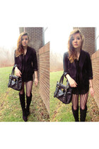 black Rue 21 bag