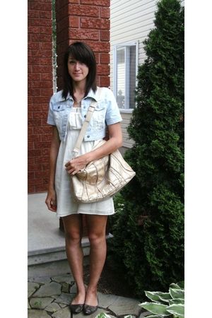 UB jacket - Guess dress - Aldo shoes - Chinese Laundry purse