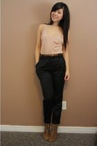wilfred belt - wilfred bra - wilfred top - H&M pants - Zara shoes