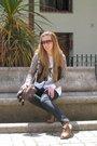 Purificacion-garcia-blouse-pepe-jeans-vest-blanco-cardigan-fornarina-pants