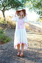 Bohemian Embroidered Dress for Fall