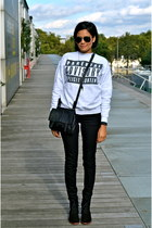 silver Urban Outfitters sweater