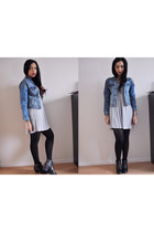 Sacha boots - H&M dress - Pull and Bear jacket