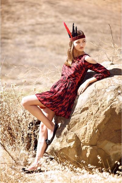 crimson Alyssa Nicole dress