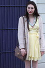 Light-yellow-alyssa-nicole-dress-white-oxfords-steve-madden-shoes