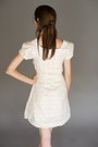 Cream Peterpan Collar Alyssa Nicole Dresses