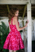 Paisley Sweetheart Dress