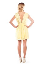 Light Yellow Alyssa Nicole Dresses