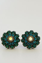 Teal-blue-flower-gem-alyssa-nicole-earrings