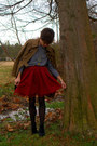 Call-it-spring-boots-jacket-american-apparel-shirt-gap-skirt
