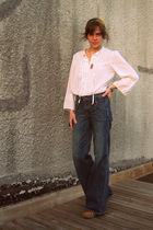 Juicy Couture jeans - vintage blouse