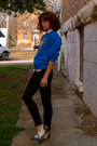 Urban-outfitters-shoes-topshop-jeans-gap-blouse-thrifted-sweatshirt
