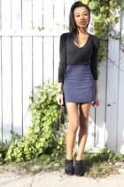 boots - shirt - skirt