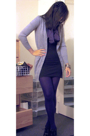 hm sweater - Payless shoes - aa dress - headband f21 accessories