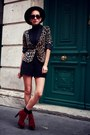 Cinderella-shop-online-shoes-leopard-print-lefties-blazer-vintage-shorts